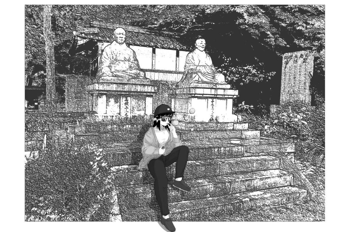 神社ガール②